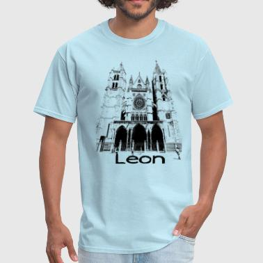 León Leon-Cathedral - Men's T-Shirt