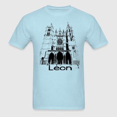 Leon-Cathedral - Men's T-Shirt