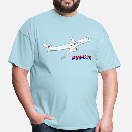 Malaysia Airlines MH370 Men's T-Shirt | Spreadshirt