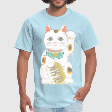 Japanese Lucky Cat - Men's T-Shirt