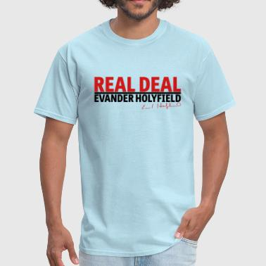 Real Deal Evander Holyfield w/ sig mp - Men's T-Shirt
