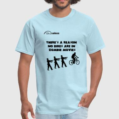 Cycling T Shirt - There's a Reason No Bikes are in - Men's T-Shirt
