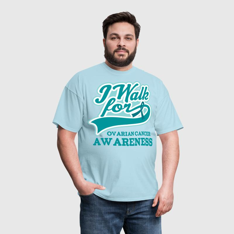 Ovarian Cancer Walk Teal - Men's T-Shirt