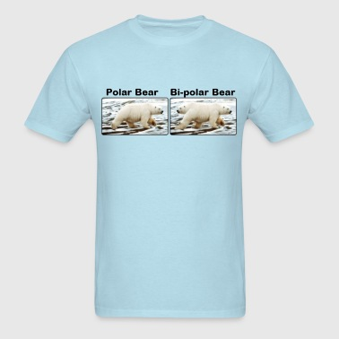 Polar Bear, Bi-Polar Bear - Men's T-Shirt