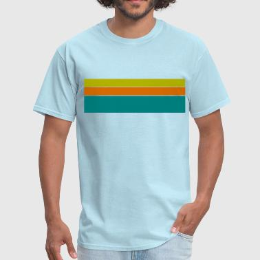 Retro Stripes - Men's T-Shirt