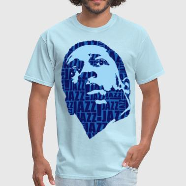 Jazz only blue - Men's T-Shirt