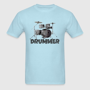 Drummer Drums Drum Kit for Drummers - Men's T-Shirt
