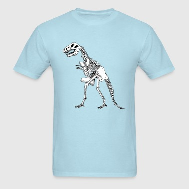 Sheldon Cooper dino shirt - Men's T-Shirt