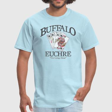 Buffalo Euchre Apparel Clothing Shirts - Men's T-Shirt