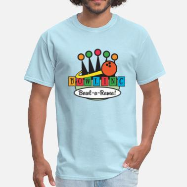 Holiday Bowling Bowling - Men's T-Shirt