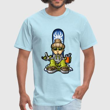 Snow boy and soda - Men's T-Shirt