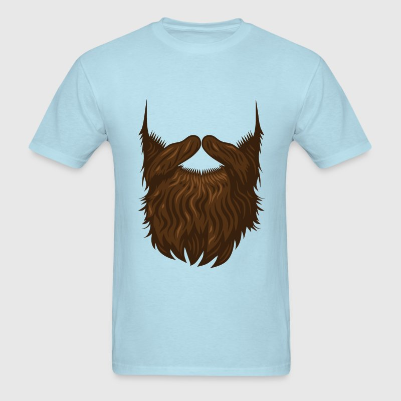 Hipster beard - Men's T-Shirt
