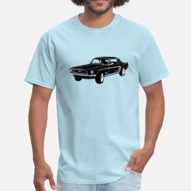 1968 Ford Mustang Coupe 1968 Ford Mustang Coupe - Men's T-Shirt