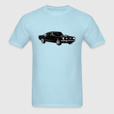 1965 Ford Mustang Fastback - Men's T-Shirt