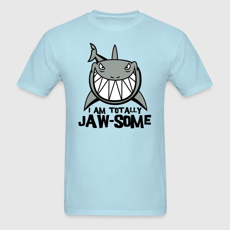 Totally Jawsome Shark - Men's T-Shirt