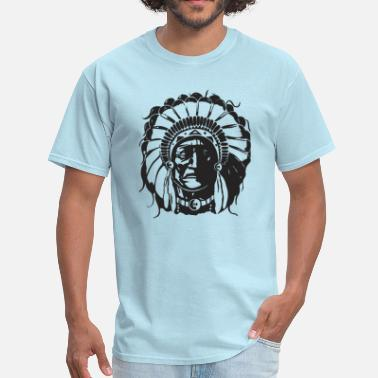 Sacajawea American Native Head - Men's T-Shirt