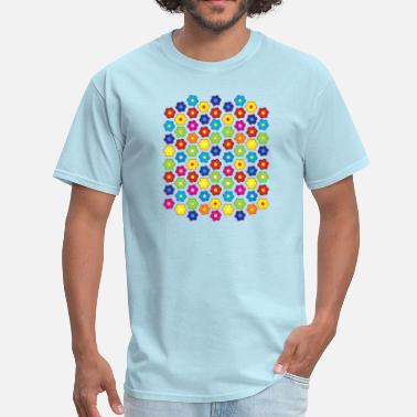 Flower Pattern Flowers Pattern - Men's T-Shirt