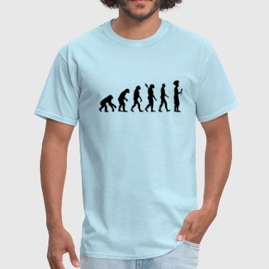 Chef Cook Evolution cook chef - Men's T-Shirt