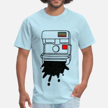 Instant-camera Camera Vintage Polaroid Camera - Men's T-Shirt