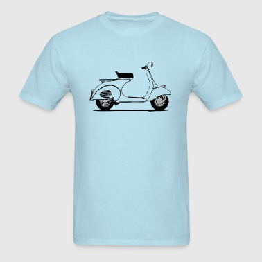 vintage vespa scooter transparent - Men's T-Shirt