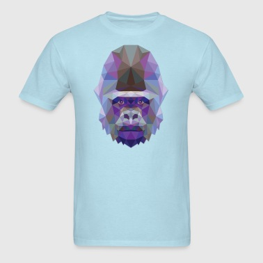 Polygonal Gorilla - Men's T-Shirt