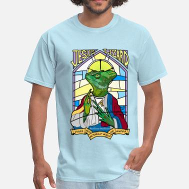 Jesus Lizard Jesus Christ Lizard - Men's T-Shirt