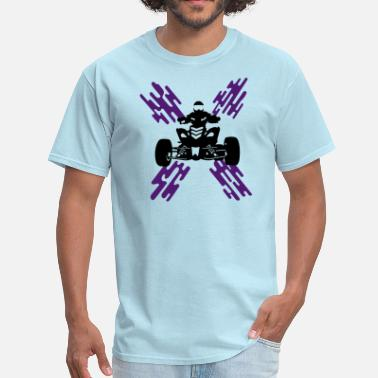 Biker Quads Quad - Men's T-Shirt