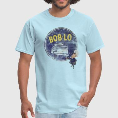 Vintage Retro Classic Cute Detroit Boblo Island  - Men's T-Shirt