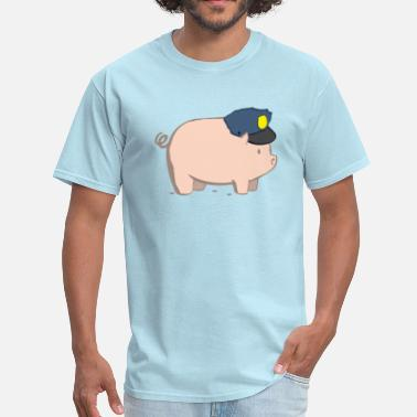 Satire Pig - Men's T-Shirt