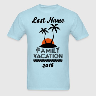Family Beach Vacation - Men's T-Shirt
