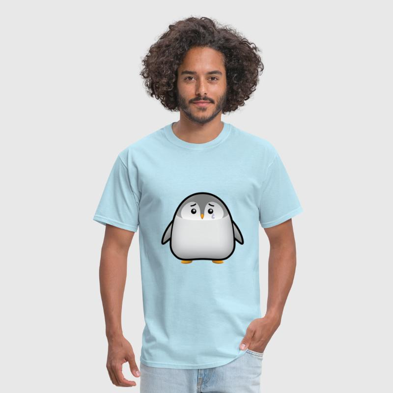 Baby Penguin Sad - Men's T-Shirt
