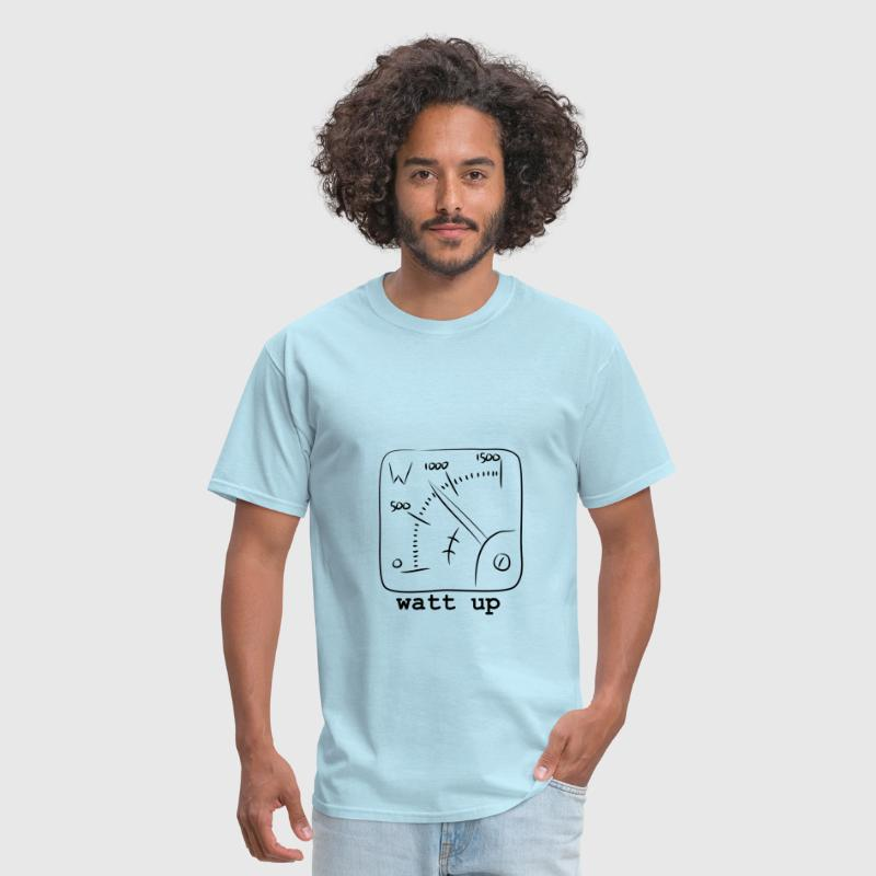 watt up - Men's T-Shirt