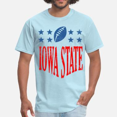 Iowa Football iowa football - distressed - Men's T-Shirt