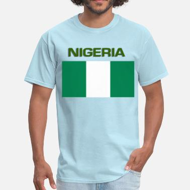 Nigerian Design Nigerian Flag - Men's T-Shirt