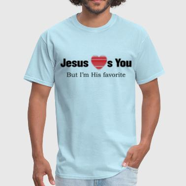 Shop jesus loves you easter gifts online spreadshirt jesus loves you men39s negle Gallery