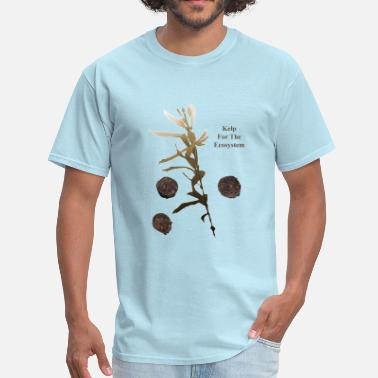 Kelp Kelp for the Ecosystem Abalone Diving - Men's T-Shirt