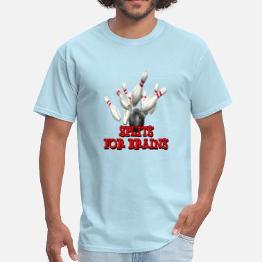 f17cf435 Bowling Team Bowling Team Splits for Brains - Men's T-Shirt