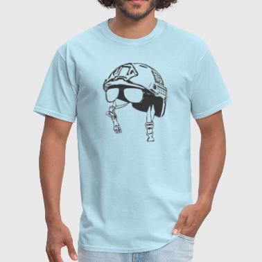Chin Strap - Men's T-Shirt