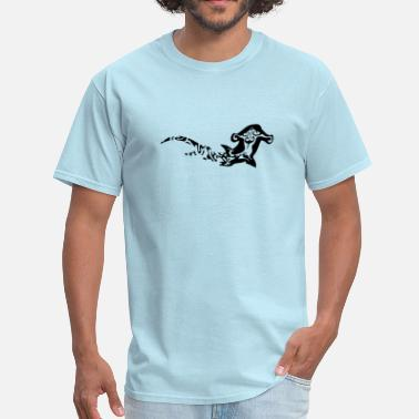 Polynesian hammerhead shark - Men's T-Shirt