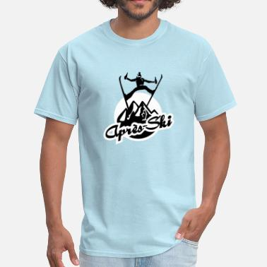 Sex Snowboarding apres ski - Men's T-Shirt