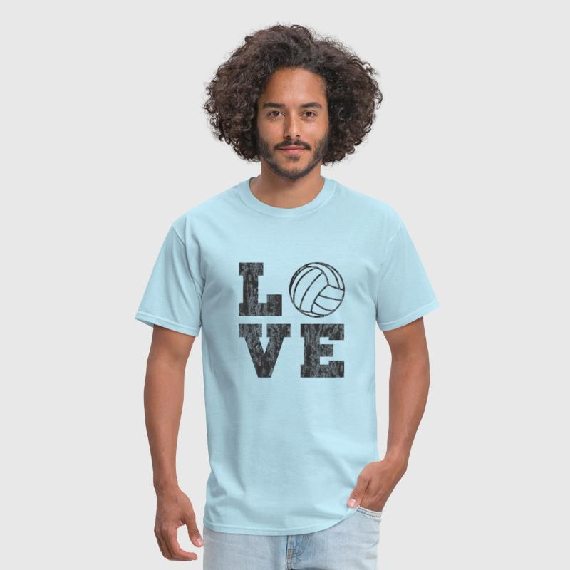 Vintage Volleyball Love - Men's T-Shirt