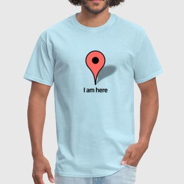 Google Map Google Map marker - Men's T-Shirt
