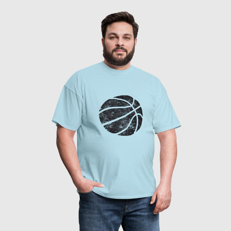 Basketball Vintage Look Retro - Men's T-Shirt