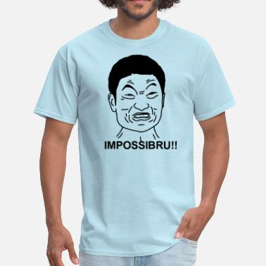 Dope Chinese IMPOSSIBRU!! (HQ) Any Color - Men's T-Shirt