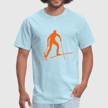 cross-country ski - Men's T-Shirt