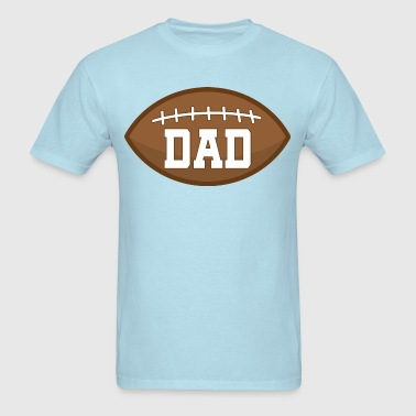 Dad Football Sports Gift - Men's T-Shirt