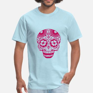 Laughing Skull A laughing skull in the style of Sugar Skulls - Men's T-Shirt