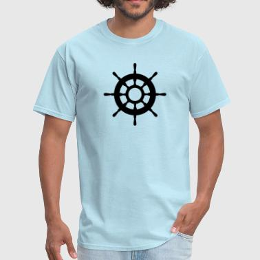 helm / oar / rudder - Men's T-Shirt