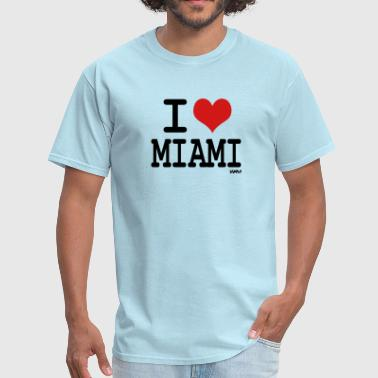 i love miami by wam - Men's T-Shirt