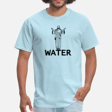 Osaio Clothing Co Jesus Water - Men's T-Shirt